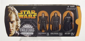 Evolutions - Anakin Changes to Darth Vader