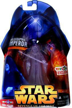 ROTS - Holographic Emperor Palpatine Exclusive