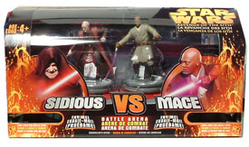 Darth Sidious VS. Mace Windu