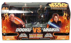 Count Dooku VS. Anakin Skywalker