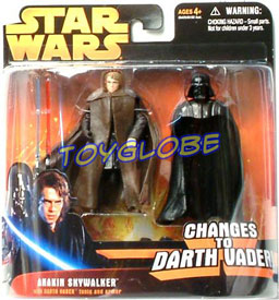 Anakin Skywalker Changes to Darth Vader