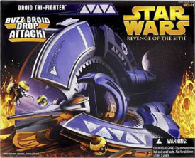 Droid Tri-Fighter - Buzz Droid Drop Attack