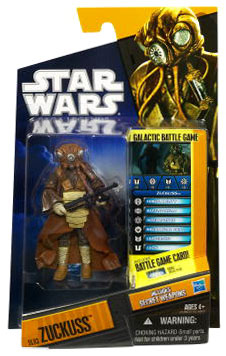 Clone Wars 2010 Black Orange Packaging - Saga Legends - Zuckuss