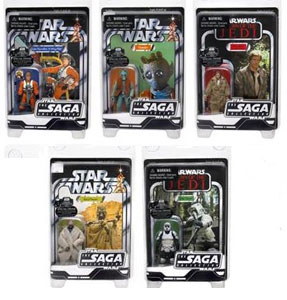 Limited Edition Saga Vintage Collection Set of 5 - No George Lucas Coupon