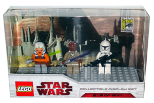LEGO Star Wars - SDCC 2009 - Mini-Fig Limited Edition [AHSOKA, MACE WINDU, AND CLONE TROOPER]