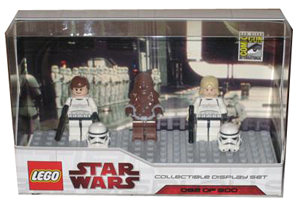LEGO Star Wars - SDCC 2009 - Mini-Fig Limited Edition [Luke Skywalker and Han Solo as Stormtrooper, Chewbacca]