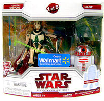 Legacy Collection 2-Pack Exclusive: General Grievous and CB-3D[Build Dark Trooper]