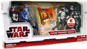CLONE TROOPER SQUAD 4 PACK EXCLUSIVE