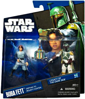 Legacy Of the Darkside Exclusive 2-Pack: Boba Fett Orphan to Bounty Hunter