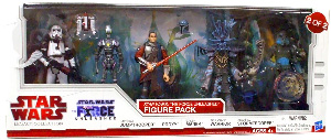 Star Wars 2010 Legacy Collection Exclusive Force Unleashed 5-Pack 2 of 2