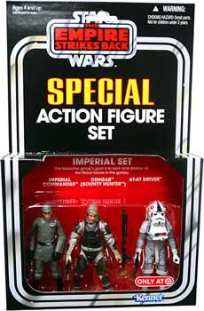 Kenner Special Exclusive 3-Pack Imperial Set - Imperial Commander, Dengar, AT-AT Driver