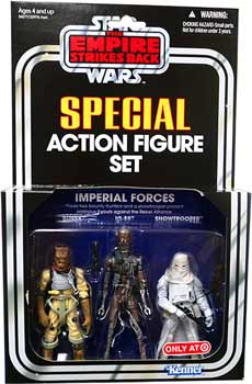 Kenner Special Exclusive 3-Pack Imperial Forces Set - Bossk, IG-88, Snowtrooper