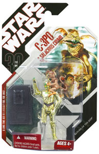 30th Anniversary 2008 NO COIN - C-3PO and Salacious Crumb