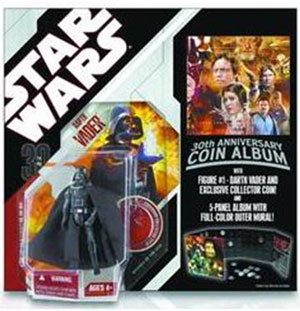 SW 30th - Darth Vader with Coin Album