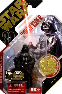 30th Anniversary UGH - Darth Vader with Overcloak  16