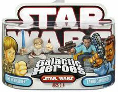 Galactic Heroes: Luke and Lando Red