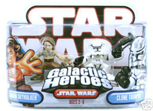 Galactic Heroes - Anakin Skywalker and Clone Trooper