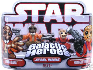 Galactic Heroes - Ponda Baba and Snaggletooth