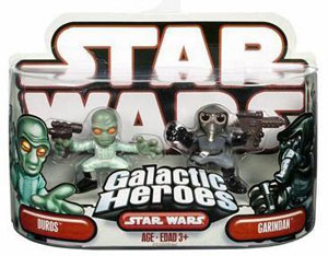 Galactic Heroes Duros and Garindan RED BACK