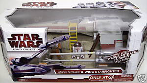 Clone Wars 2009 Red Box - Wedge Antilles X-Wing Starfighter