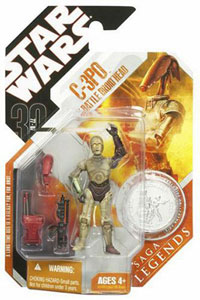 30th Anniversary Saga Legends - C-3PO with Battle Droid Body