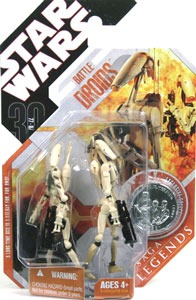 30th Anniversary Saga Legends - Battle Droids