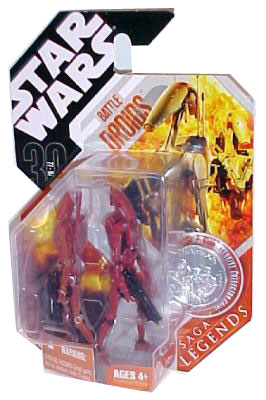 30th Anniversary Saga Legends - Battle Droids Red Variant