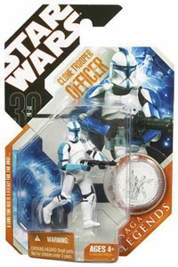 30th Anniversary Saga Legends - Blue Clone Trooper Officer