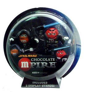Chocolate Mpire: Emperor Palpatine and Anakin Skywalker