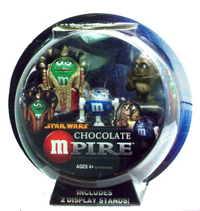 Chocolate Mpire: Queen Amidala, C3-PO, and R2-D2