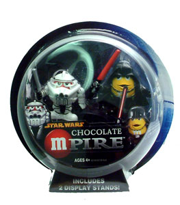 Chocolate Mpire: Clone Trooper and Darth Vader