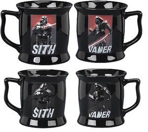One - Darth Vader Color Changing Sculpted Mug