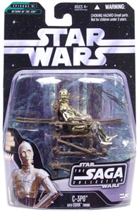 Saga Collection: C-3PO in Ewok Village