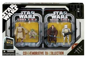 Star Wars Episode III Commemorative Tin Collection