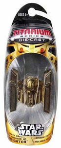 SDCC Gold Darth Vader Titanium Tie Advance