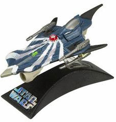 Titanium Die-Cast: Anakin Modified Starfighter Clone Wars