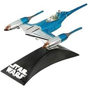 Titanium Die-Cast: Naboo Patrol Fighter - Blue