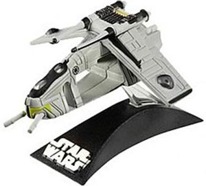 Titanium Die-Cast: Republic Gunship - Clone Wars Command