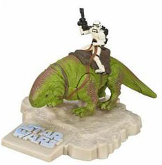 Titanium Die-Cast: Dewback with Stormtrooper