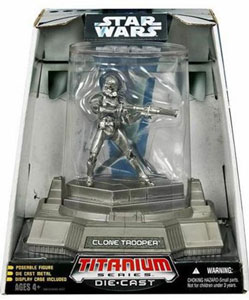 Titanium Die-Cast: EIII-Clone Trooper Vintage Finish