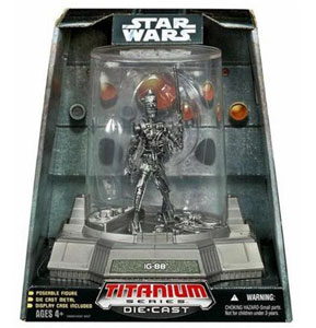 Titanium Die-Cast: IG-88 Vintage Finish