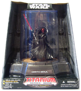 Titanium Die-Cast: Darth Maul