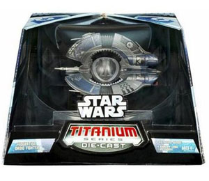 Titanium Die-Cast: Federation Droid Fighter