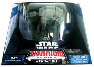 Titanium Die-Cast: AT-AT