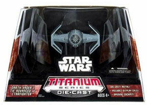 Titanium Ultra - Darth Vader Tie Fighter