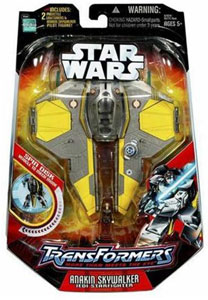 Transformers - First Edition - Anakin Skywalker to Starfighter
