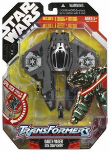Darth Vader Jedi Starfighter Transformer