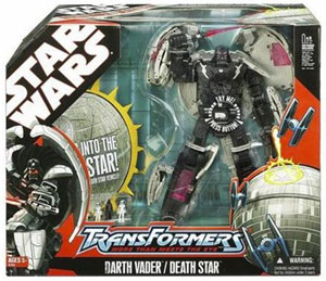 Star Wars Transformers Deluxe - Darth into Death Star
