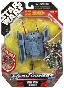 30th Anniversary Pkg: Darth Vader Tie Fighter Transformer