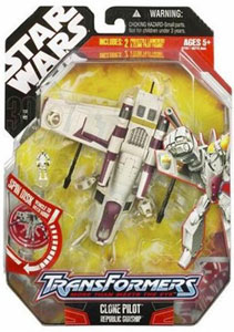 30th Anniversary Pkg: Clone Pilot White Transformer
